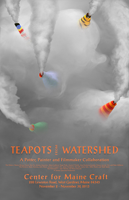 Teapots from Watershed poster
