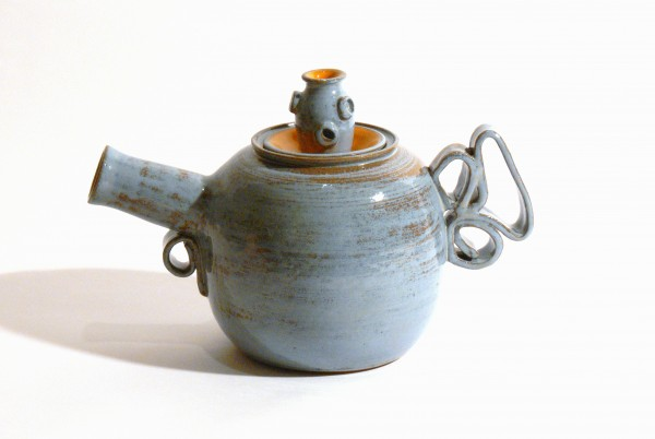 Jemma Gascoine's teapot in Monson for Teapots II